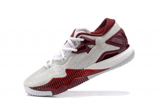 Adidas Crazylight Boost Blanc Rouge