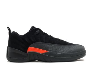 "Air Jordan 12 Low Retro ""Max Orange"" Noir Orange (308317-003)"