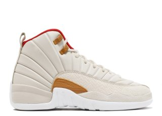 "Air Jordan 12 Retro Cny Gg (Gs) ""Chinese New Year"" Beige (881428-142)"
