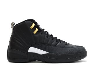 "Air Jordan 12 Retro ""The Master"" Noir Or (130690-013)"