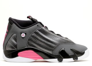 Air Jordan 14 Retro (Gs) Gris Rose (654969-028)