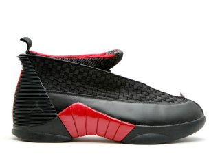 "Air Jordan 15 Retro ""Countdown Pack"" Noir Rouge (317111-062)"
