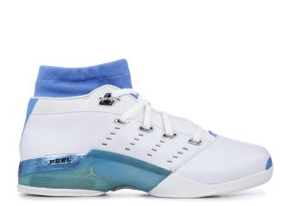 Air Jordan 17 Low Blanc Bleu (303891-141)