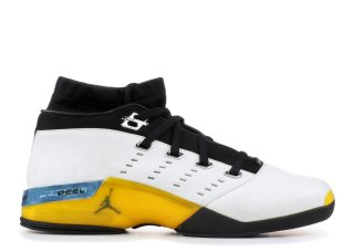 Air Jordan 17 Low Noir Jaune Bleu (303891-101)