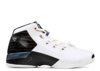 Air Jordan 17 Plus Blanc Noir (304709-108)