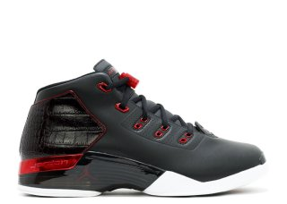 "Air Jordan 17+ Retro ""Bulls"" Noir Rouge (832816-001)"