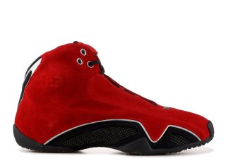 "Air Jordan 21 ""Red Suede"" Rouge Noir (313495-602)"