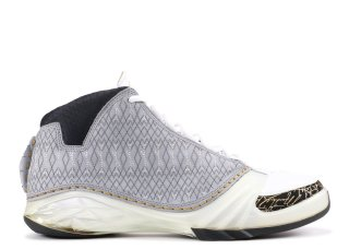 Air Jordan 23 Blanc Noir Or (318376-102)