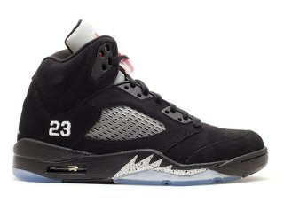 "Air Jordan 5 Retro ""2011 Release"" Noir (136027-010)"