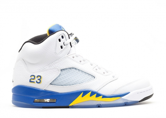 "Air Jordan 5 Retro ""Laney 2013"" Blanc (440888-189)"