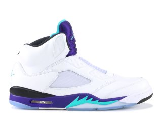 "Air Jordan 5 Retro Nrg ""Fresh Prince"" Blanc Pourpre (av3919-135)"