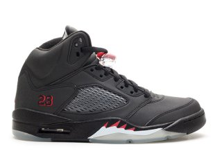 "Air Jordan 5 Retro ""Raging Bull 3M"" Noir (136027-061)"