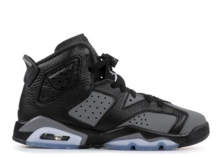 Air Jordan 6 Retro (Gs) Noir Gris (384665-010)