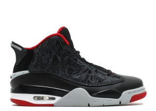 Air Jordan Dub Zero Noir Rouge (311046-013)