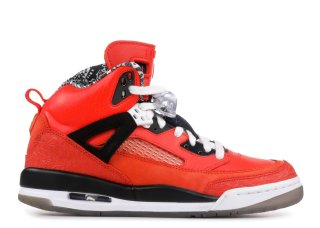 "Air Jordan Spiz'Ike (Gs) ""New York Knicks"" Rouge Noir (317321-805)"