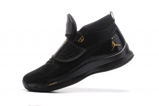 Air Jordan Super.Fly 5 Po Noir Or