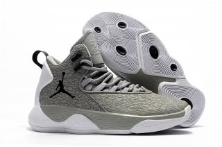 "Jordan Super.Fly Mvp ""Cement"" Gris Blanc"