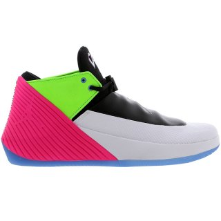 Jordan Why Not Zer0.1 Low Quai54 (2018) Noir Gris Vert Rose (at9190-100)