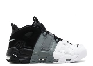 "Nike Air More Uptempo ""Tri Color"" Noir Gris Blanc (921948-002)"