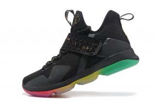 Nike Lebron XIV 14 Rise And Shine Noir Vert Rouge