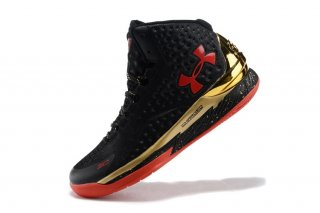 Under Armour Curry 1 Noir Or Rouge