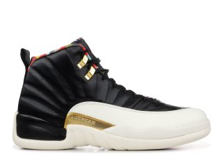 Air Jordan 12 Retro Cny Chinese New Year Noir (CI2977-006)