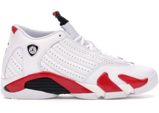 "Air Jordan 14 (GS) Retro ""Rip Hamilton"" Bianco Rouge (487524-100)"