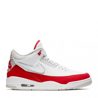 Air Jordan 3 Tinker Hatfield Bianco Rouge (CJ0939-100)