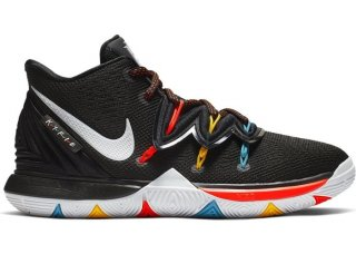 "Nike Kyrie V 5 ""Friends"" (GS) Noir (AQ2456-006)"