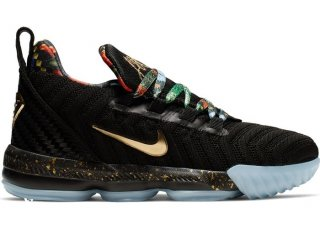 Nike Lebron XVI 16 (PS) Watch The Throne Kid Noir (CJ6707-001)