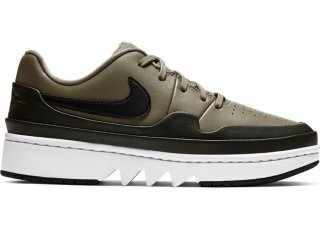 "Air Jordan 1 Low Jester XX Femme ""Laced Trooper"" Olive (CI7815-201)"