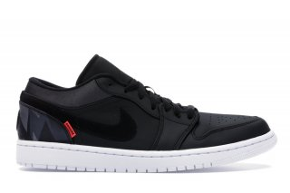 "Air Jordan 1 Low Psg ""Paris Saint Germain"" Noir (CK0687-001)"