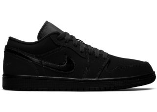 "Air Jordan 1 Low ""Triple Noir"" (2019) Noir (553558-056)"