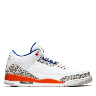 "Air Jordan 3 ""Knicks"" Blanc (136064-148)"