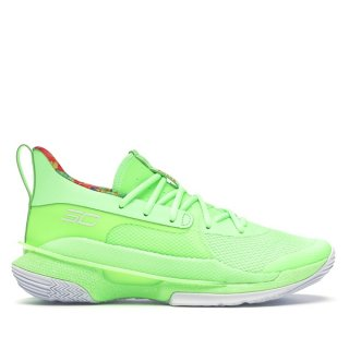 "Under Armour Curry 7 ""Sour Patch Kids"" Fluorescent Vert (3021258-302)"