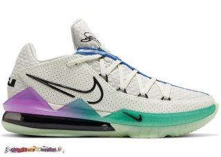 "Nike Lebron 17 Low ""Glow In The Sombre"" Multicolore (CD5007-005)"