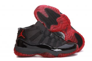Air Jordan 11 Noir Gris Rouge