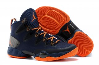 Air Jordan 28 Bleu Orange