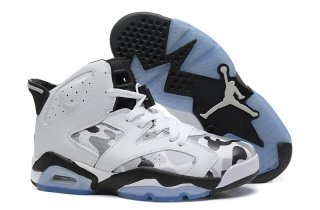 Air Jordan 6 Multicolore Blanc
