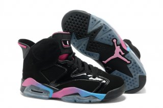 Air Jordan 6 Noir Multicolore