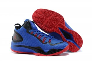 Jordan Super Fly 2 Po X Bleu Rouge