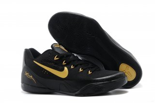 Nike Kobe 9 Elite Noir Or