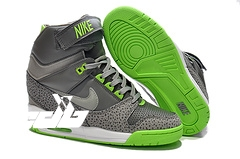 Nike Air Revolution Sky High Gris Vert (599410-002)