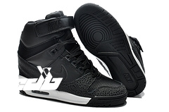 Nike Air Revolution Sky High Wedge Sneakers Noir (599410-003)