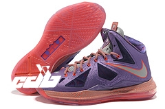 "Nike Lebron X 10 ""All Star"" Pourpre"