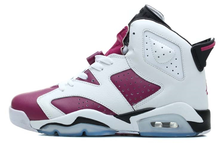 Air Jordan 6 Blanc Pourpre