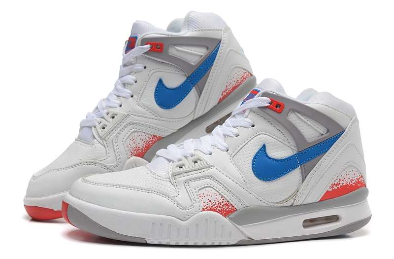 Air Tech Challenge Bleu Blanc Orange